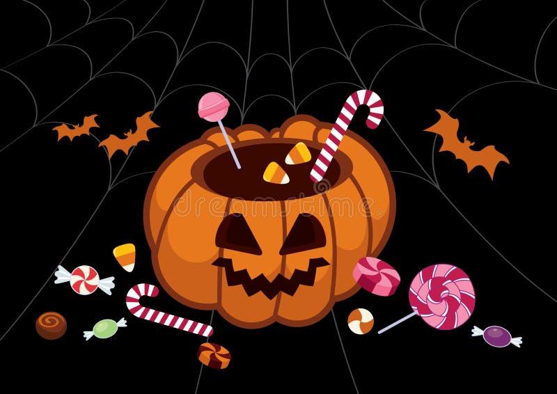 Вектор тыквы хеллоуина бесплатная иллюстрация
