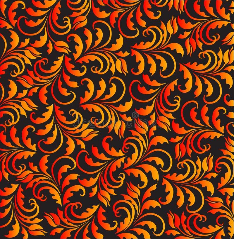 вектор тюльпана картины golgen иллюстрация вектора