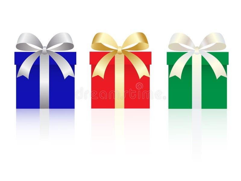 вектор установленный подарками бесплатная иллюстрация