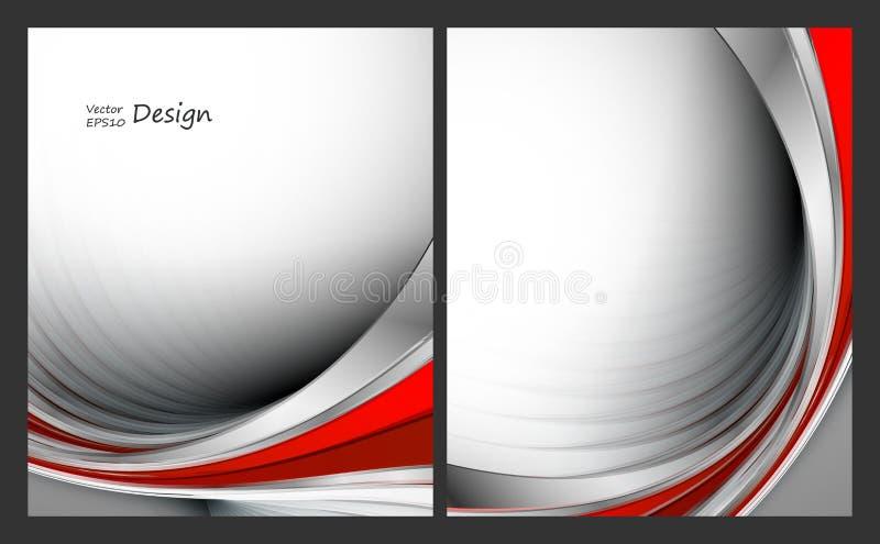 вектор установленный предпосылками иллюстрация штока