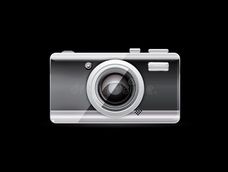 вектор фото камеры иллюстрация вектора