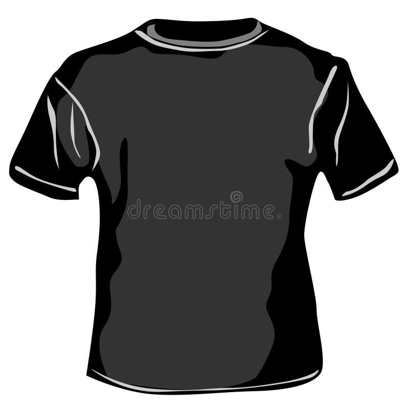 Вектор - футболка иллюстрация штока