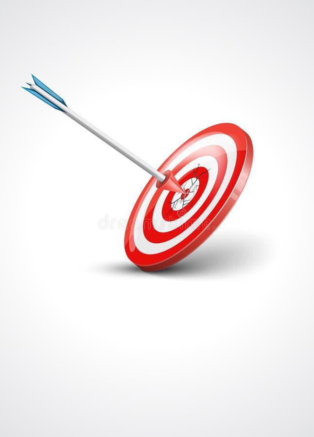 вектор цели иллюстрации стрелки бесплатная иллюстрация