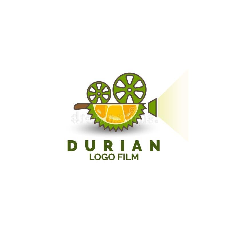 Вектор шаблона дизайна логотипа фильма продукции студии иллюстрация вектора