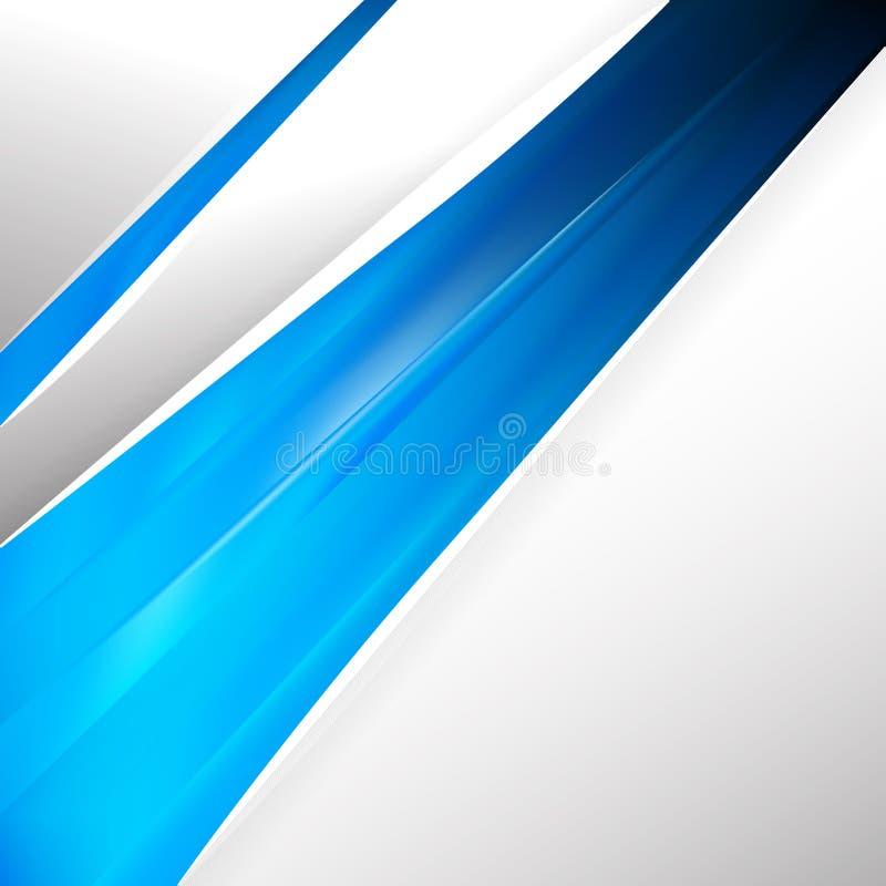 Вектор шаблона конструктора синих брошюр бесплатная иллюстрация