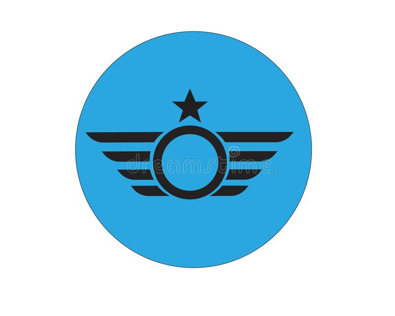 Вектор шаблона логотипа сокола иллюстрация штока