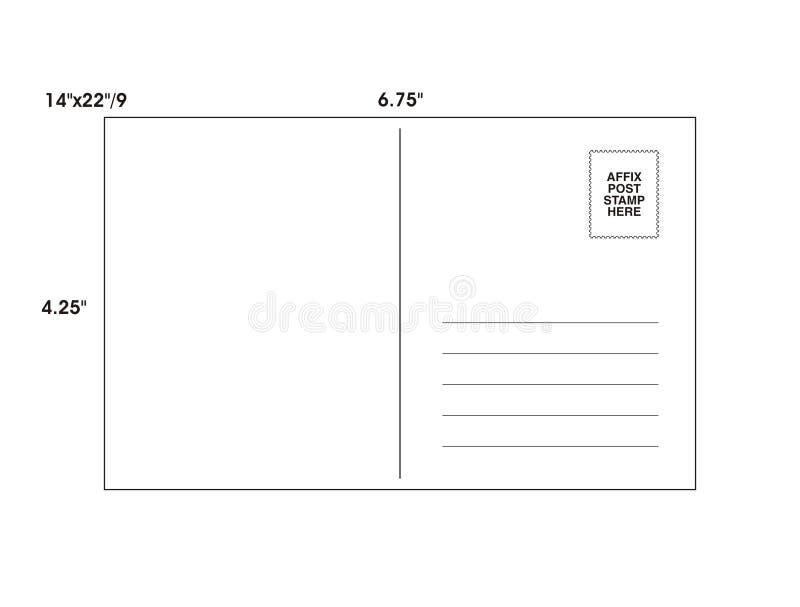 вектор шаблона столба карточки иллюстрация вектора