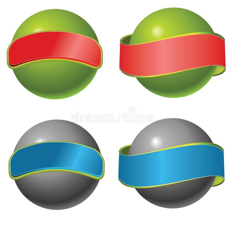 вектор шара иллюстрация штока