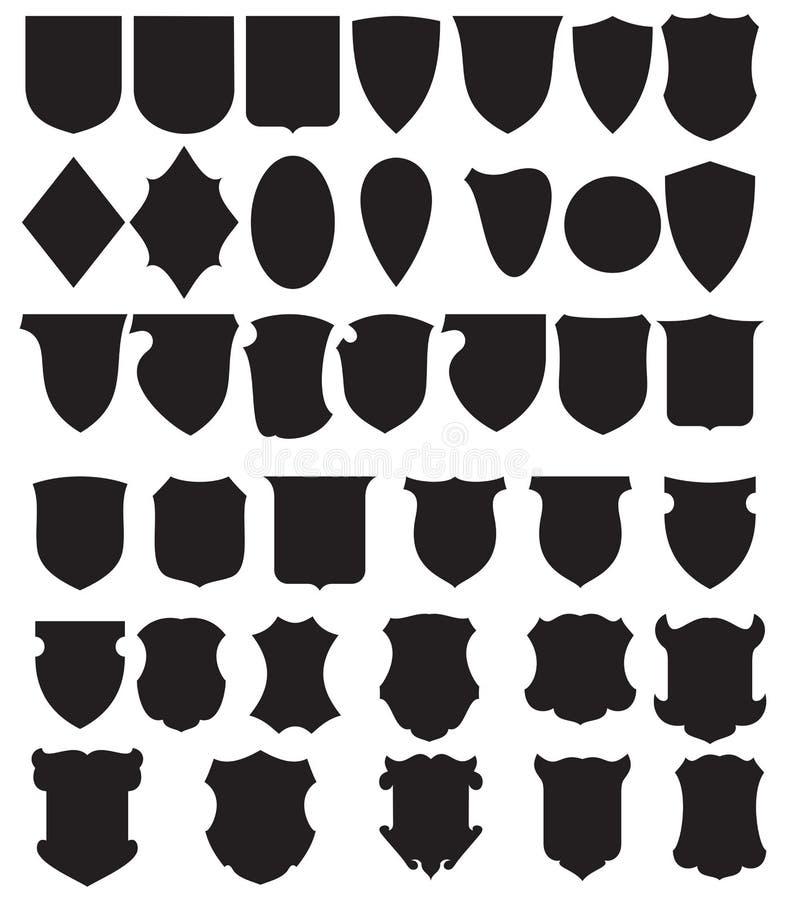 вектор экранов черноты установленный бесплатная иллюстрация