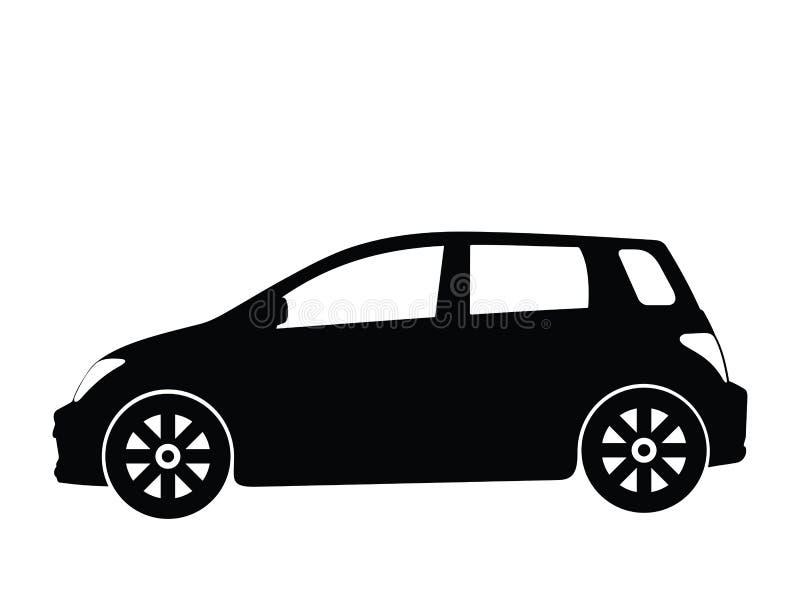 вектор 3 автомобилей малый иллюстрация вектора