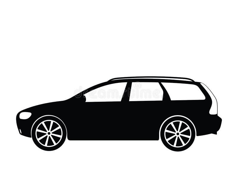 вектор 5 автомобилей иллюстрация вектора