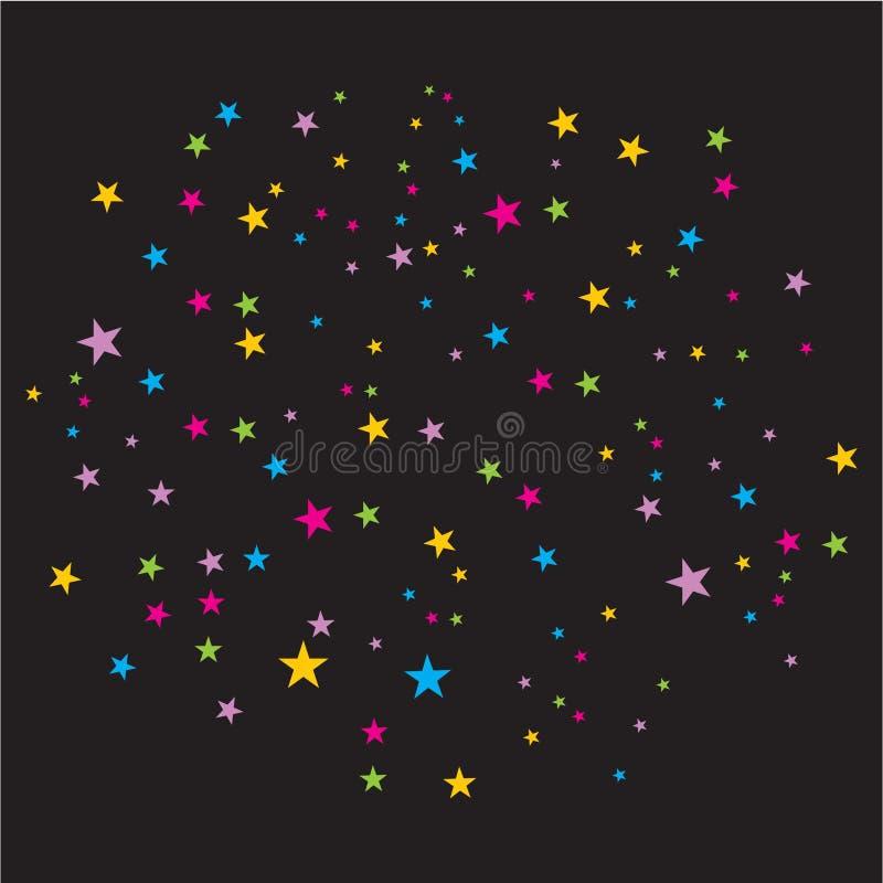 вектор confetti стоковая фотография