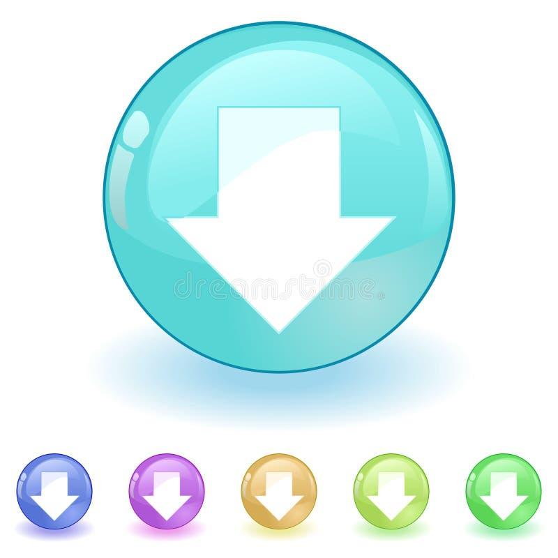 вектор download иллюстрация штока