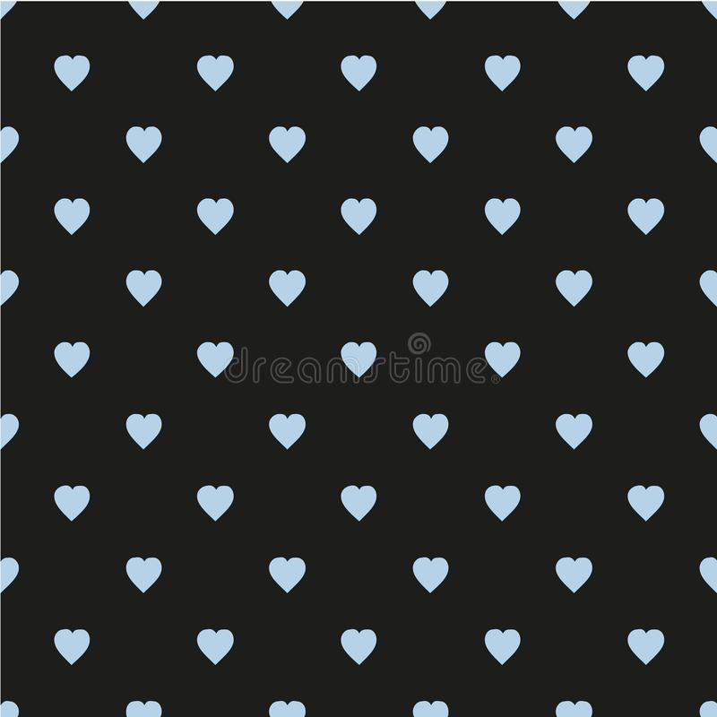вектор editable картины иллюстрации сердец масштабируемый Плоско скандинавский стиль для печати на ткани, обруче подарка, предпос иллюстрация вектора