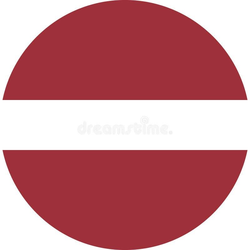 Вектор eps иллюстрации флага Латвии бесплатная иллюстрация