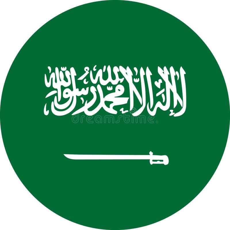 Вектор eps иллюстрации флага Саудовской Аравии бесплатная иллюстрация
