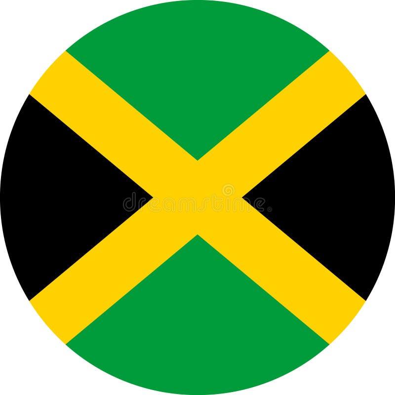 Вектор eps иллюстрации флага Ямайки американский бесплатная иллюстрация