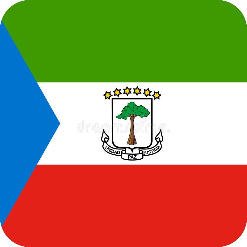 Вектор eps иллюстрации Экваториальной Гвинеи флага бесплатная иллюстрация
