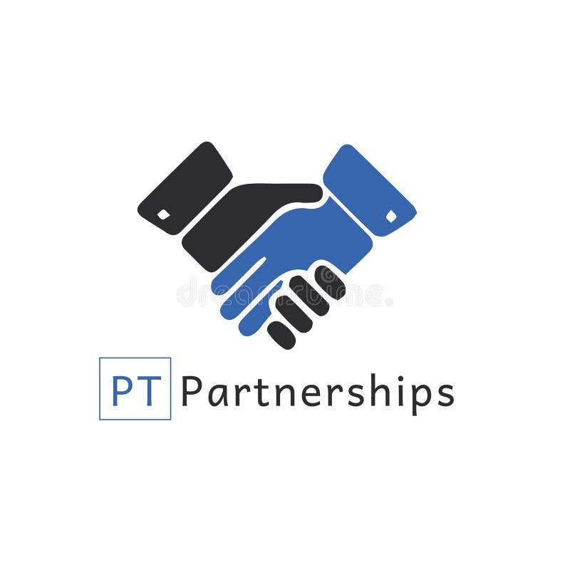 Вектор Eps ai логотипа партнерства бесплатная иллюстрация