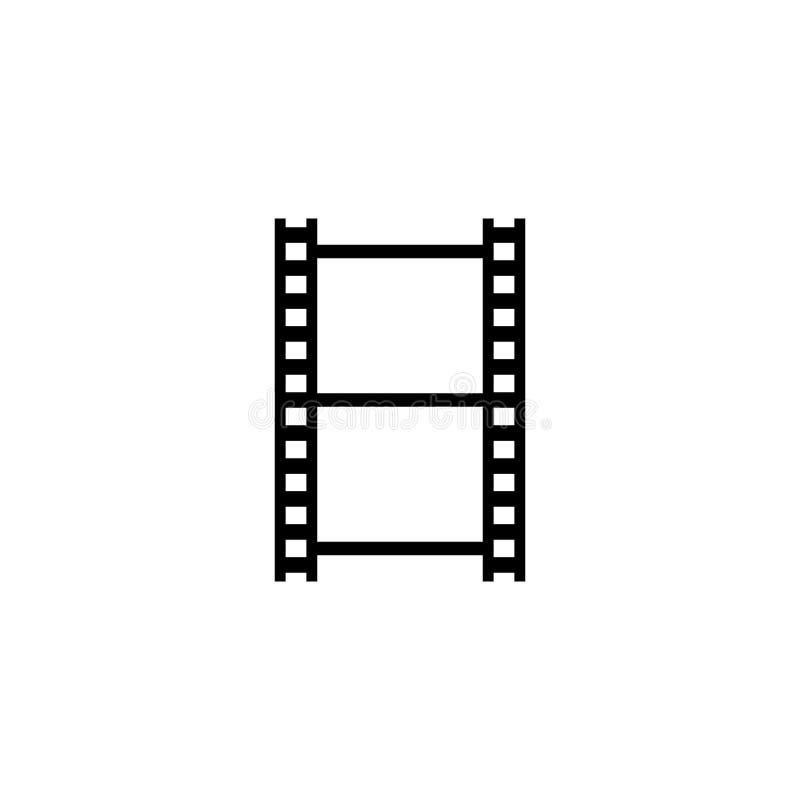 Вектор Filmstrip горизонтальный пустой бесплатная иллюстрация
