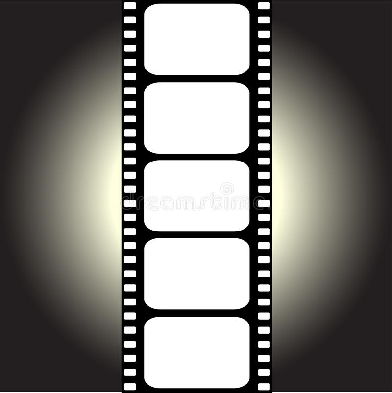 вектор filmstrip иллюстрация вектора