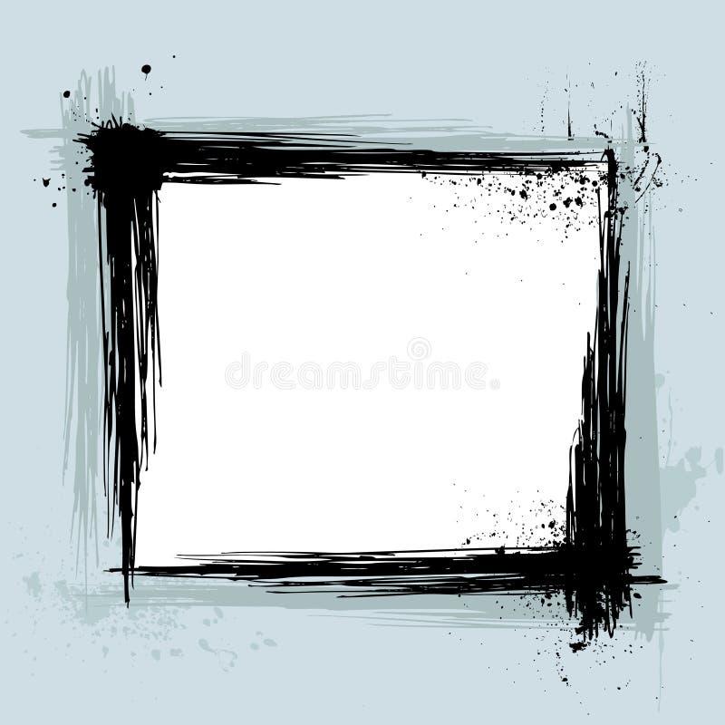 вектор grunge рамки бесплатная иллюстрация