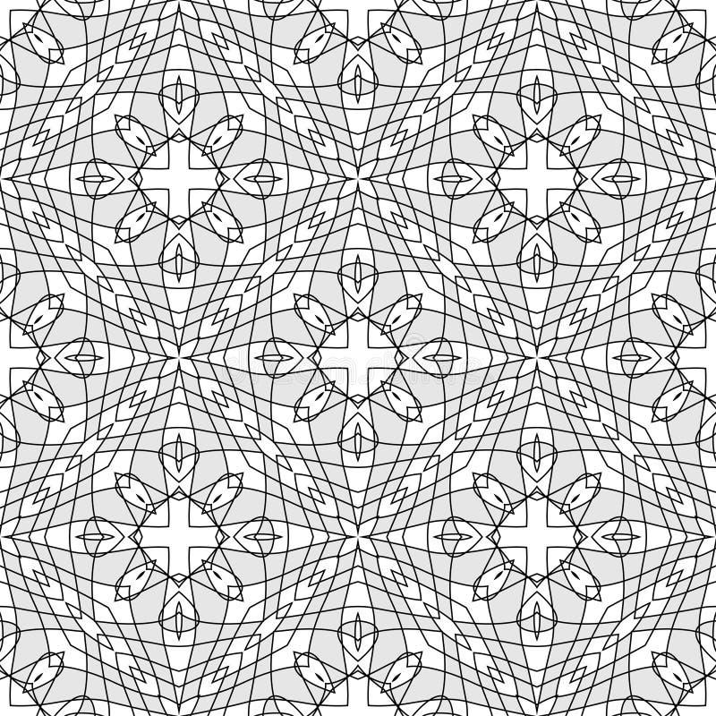 вектор guilloche предпосылки безшовный иллюстрация вектора