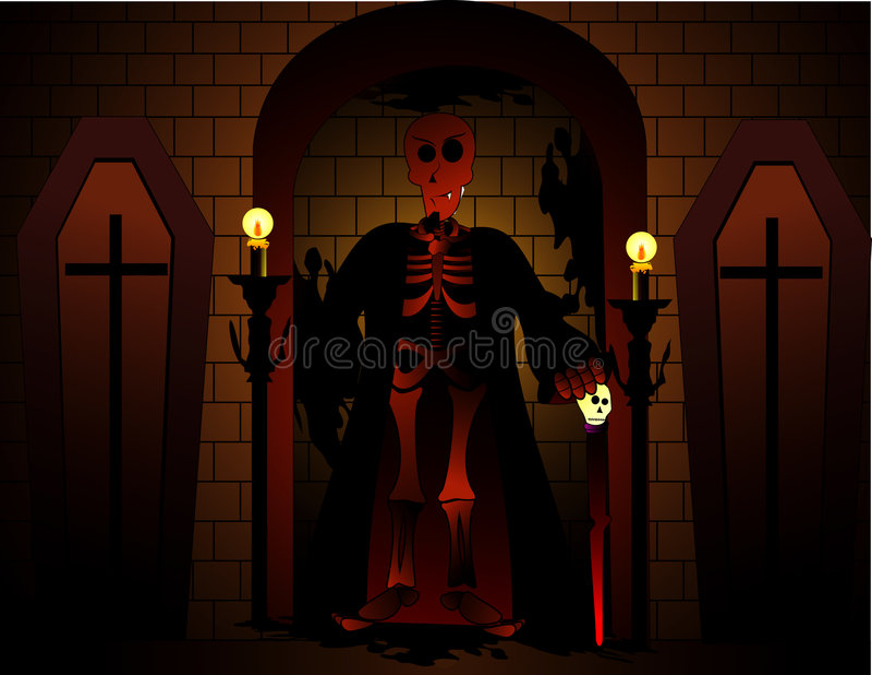 вектор halloween дьявола иллюстрация штока
