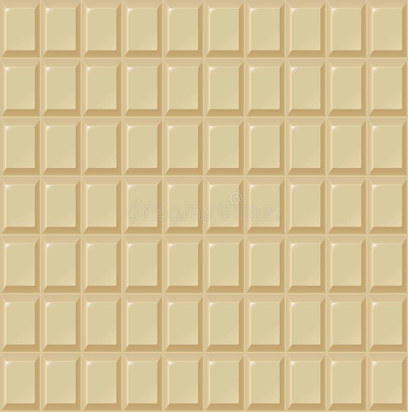 Вектор handmade, био предпосылка безшовного молока шоколада белый еды бесплатная иллюстрация