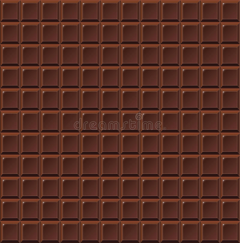 Вектор handmade, био предпосылка молока шоколада безшовный еды иллюстрация штока