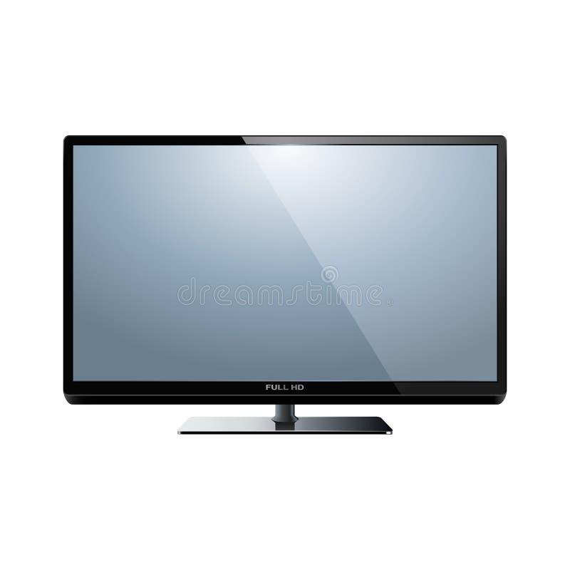 Вектор HD TV иллюстрация штока