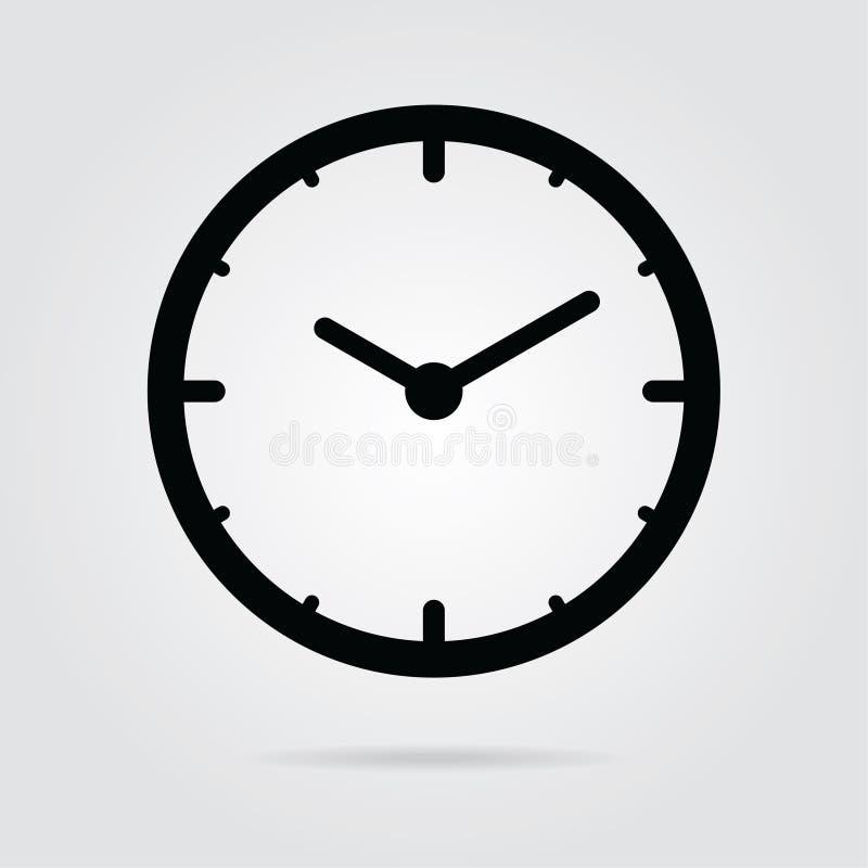 вектор icon-01 времени стиля дизайна запаса плоский бесплатная иллюстрация