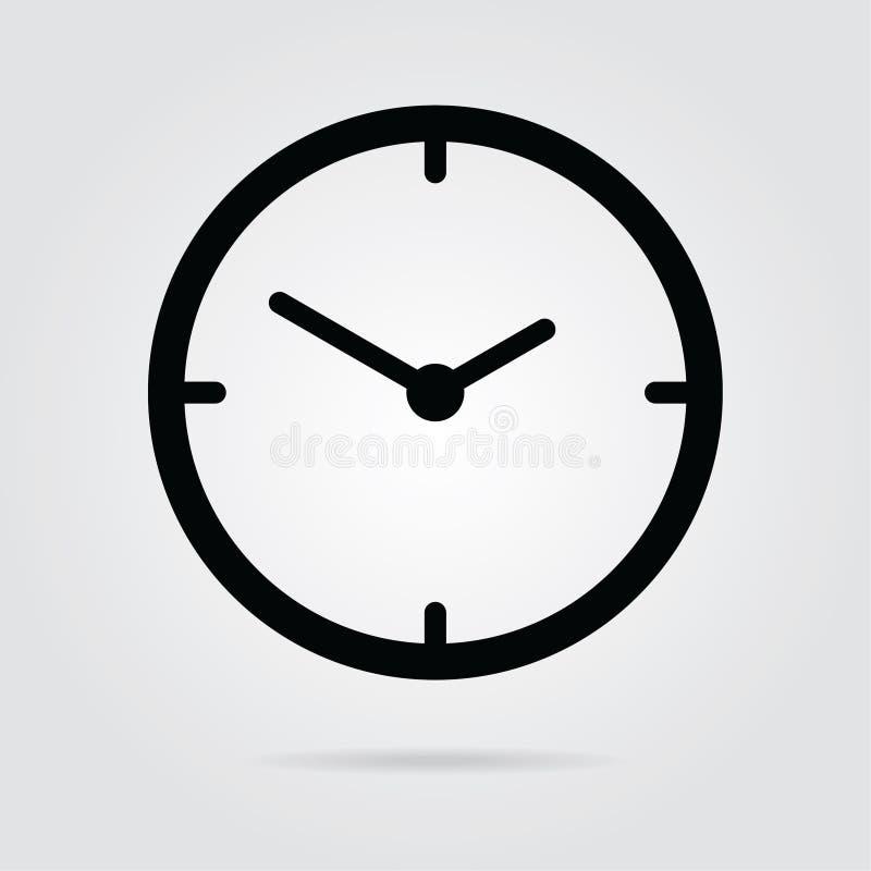 вектор icon-02 времени стиля дизайна запаса плоский бесплатная иллюстрация