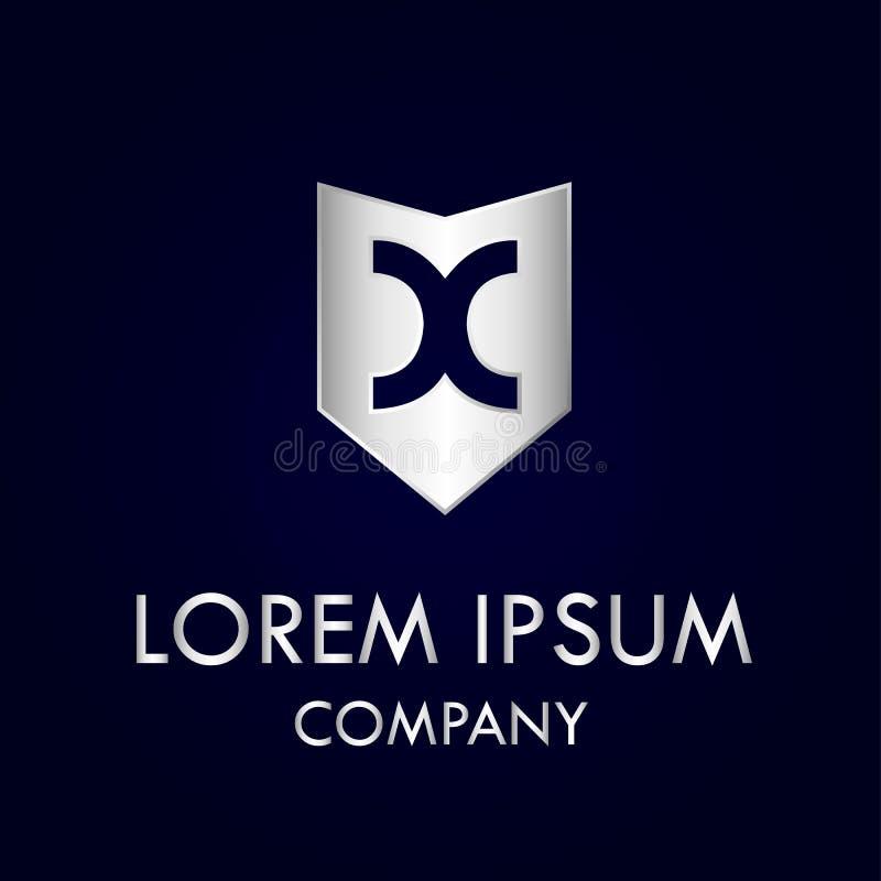 Вектор ilustration схематического дизайна дизайна логотипа письма экрана x бесплатная иллюстрация