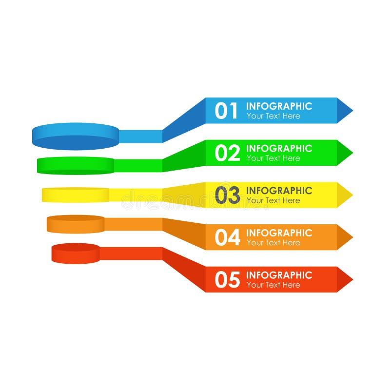 Вектор Infographic продаж или воронки преобразования бесплатная иллюстрация