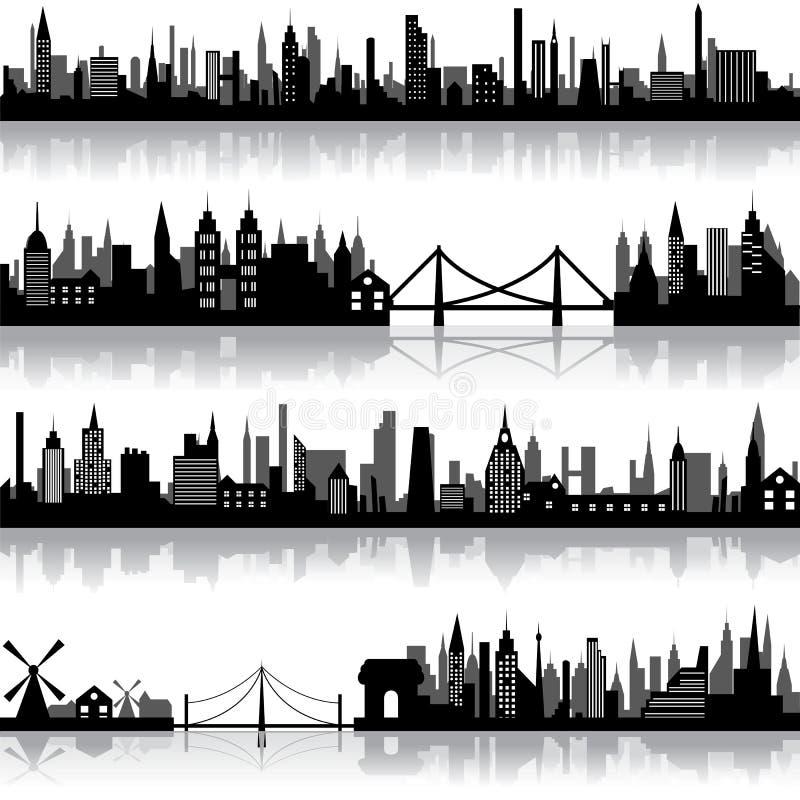 вектор scape города бесплатная иллюстрация