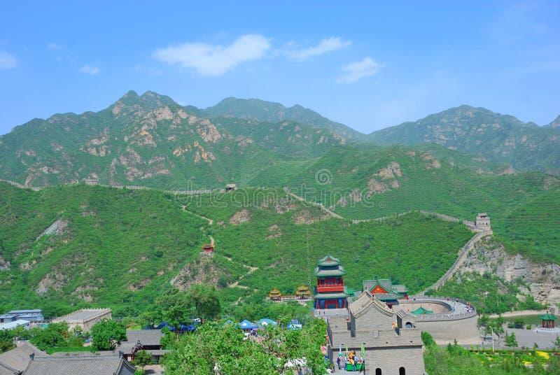 Download Великая Китайская Стена фарфора Стоковое Фото - изображение насчитывающей расстояние, greenery: 6859216