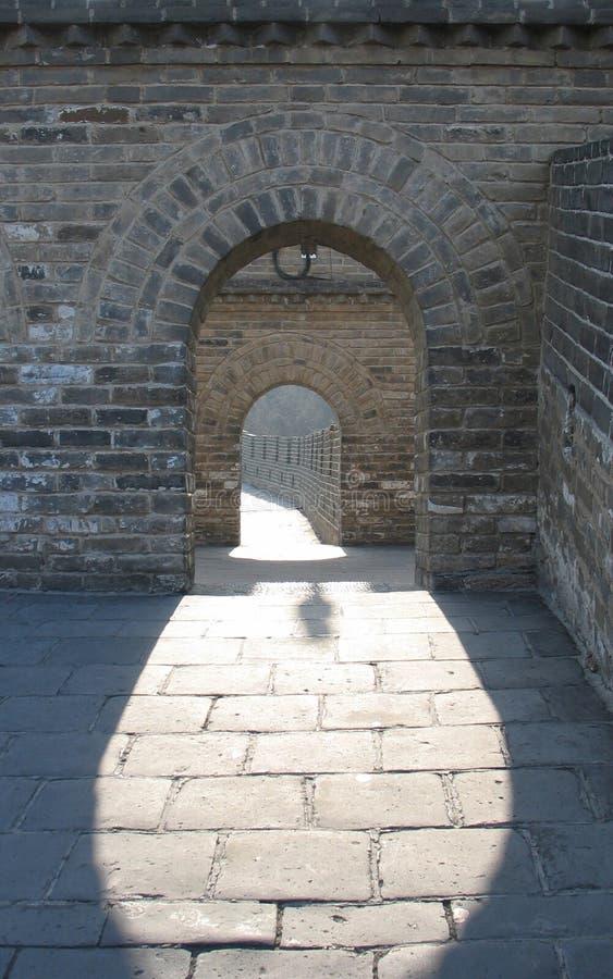 Великая Китайская Стена 3 фарфоров Стоковое Изображение RF