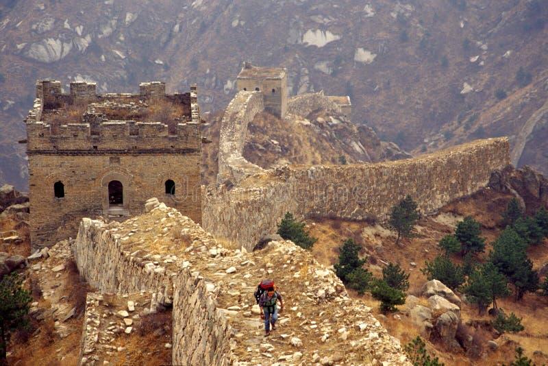 Великая Китайская Стена стоковые фото