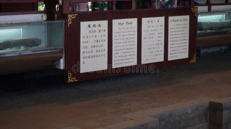 Великий торговый центр Китая Тан Династия Хуацин в Сянь стоковые изображения