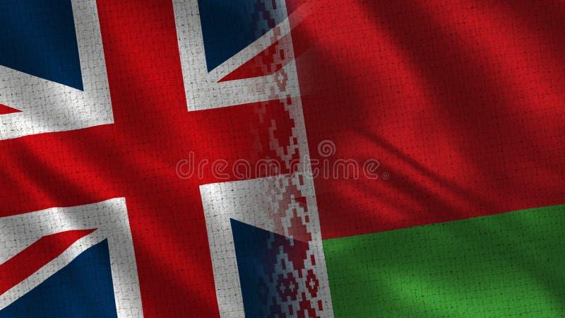 Великобритания и Беларусь бесплатная иллюстрация