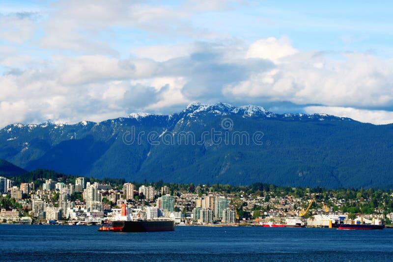 великобританская Канада columbia стоковые изображения rf