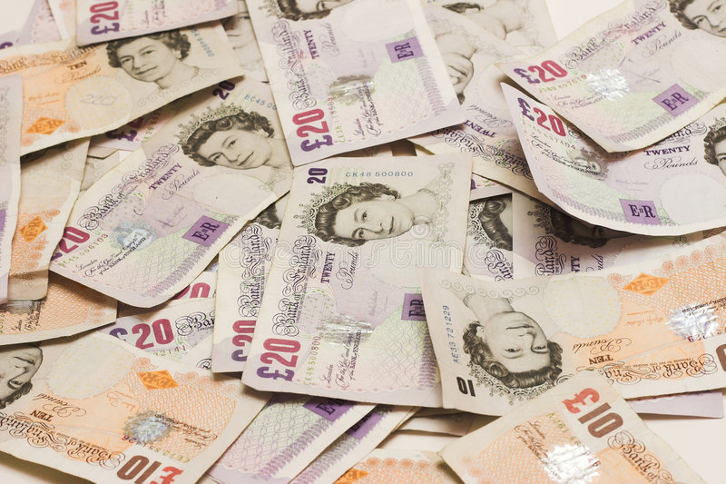 великобританские двадчадкы 10 стоковое изображение