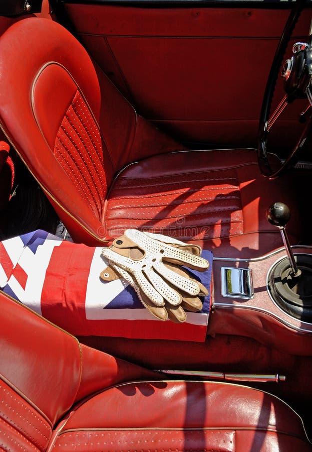 великобританские спорты автомобиля Стоковая Фотография
