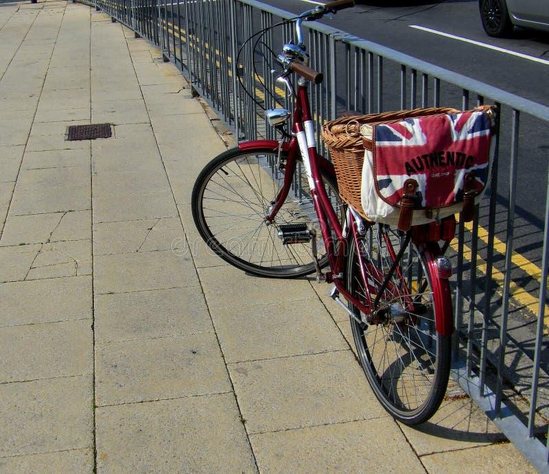 Великобританский велосипед стоковое изображение rf