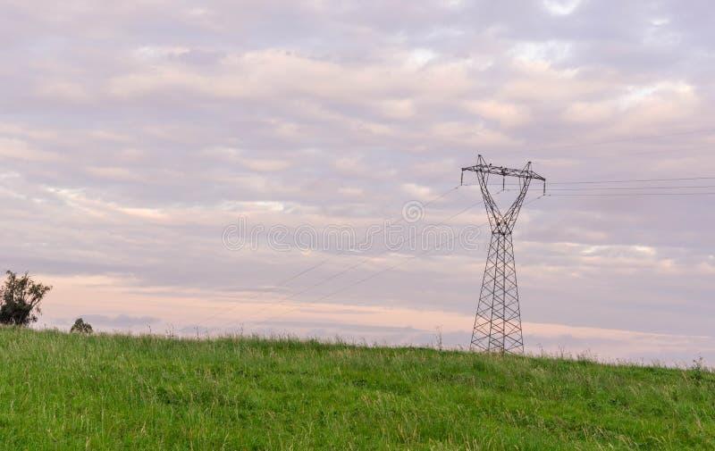 Великолепие башни 02 энергии стоковые изображения rf
