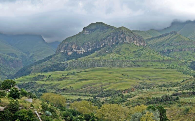 Великолепие горы стоковые фото