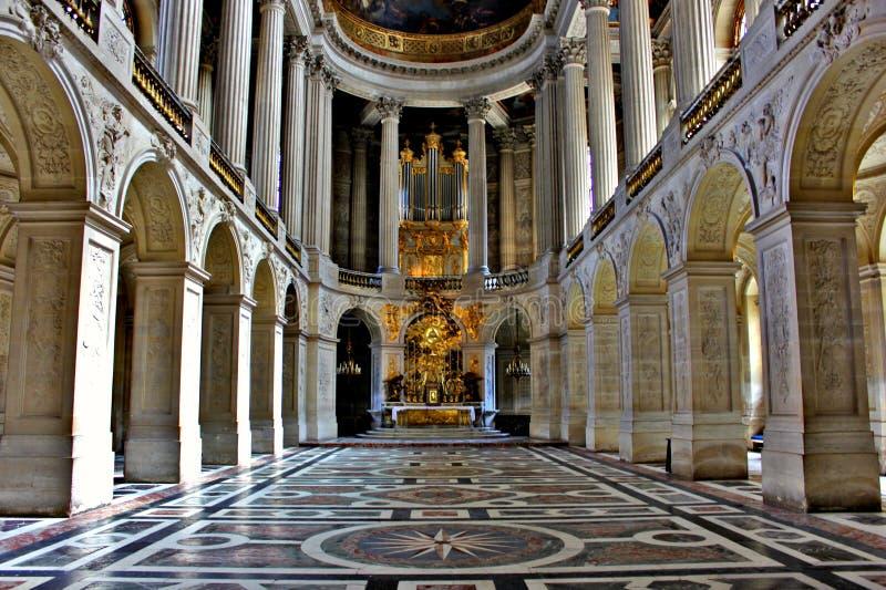 Великолепие дворца Версаль стоковые фотографии rf