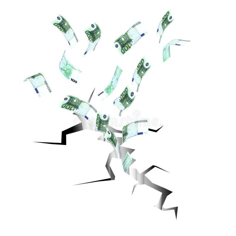 великолепное евро к иллюстрация штока