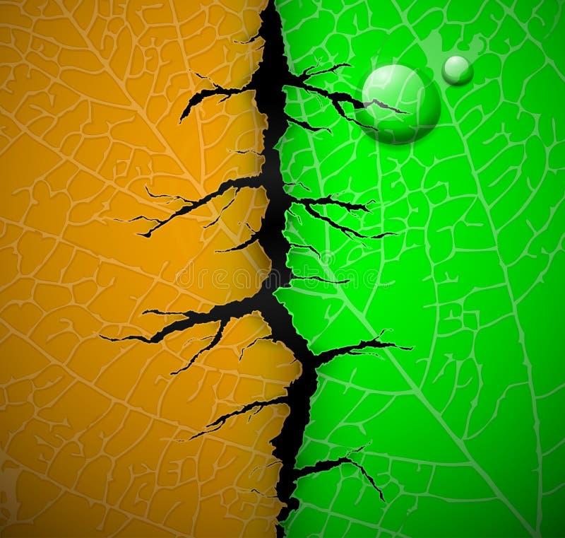 великолепные листья иллюстрация вектора